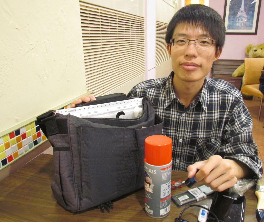 張智雄透過勞動部勞動力發展署開辦的職訓課程,找到未來職涯方向,在資訊產業中一展長才。