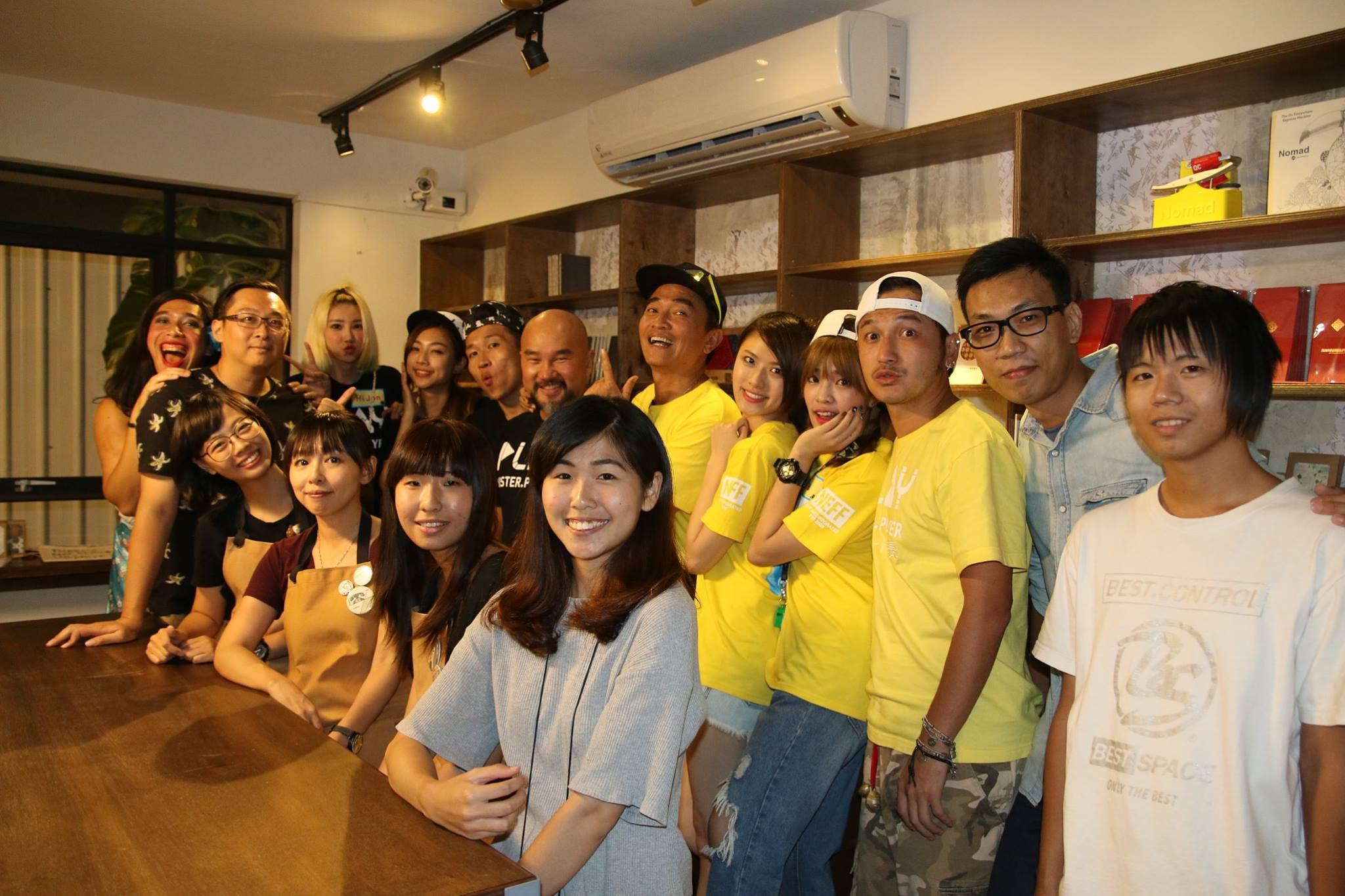 ▲原印臺南品牌在台南打響名號,獲知名節目「綜藝玩很大」主持群登門拜訪