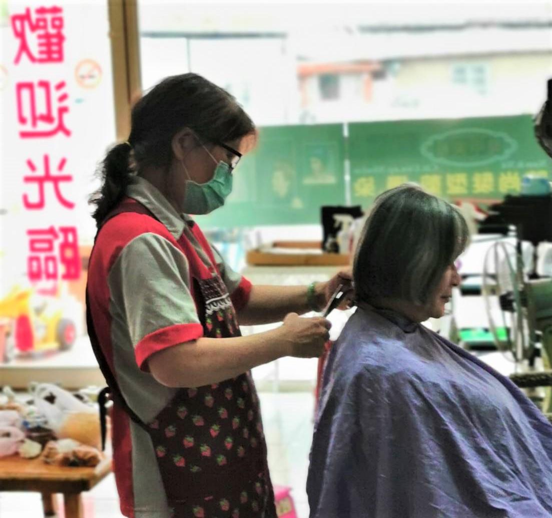 秀枝參加政府職業訓練學習一技之長創業