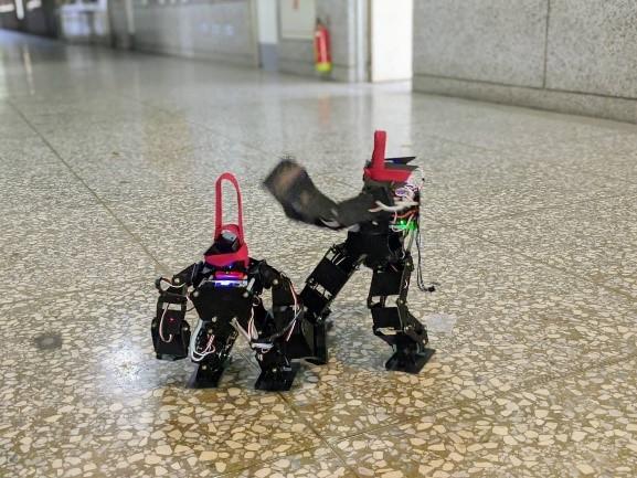 ▲人形機器人操控演練2