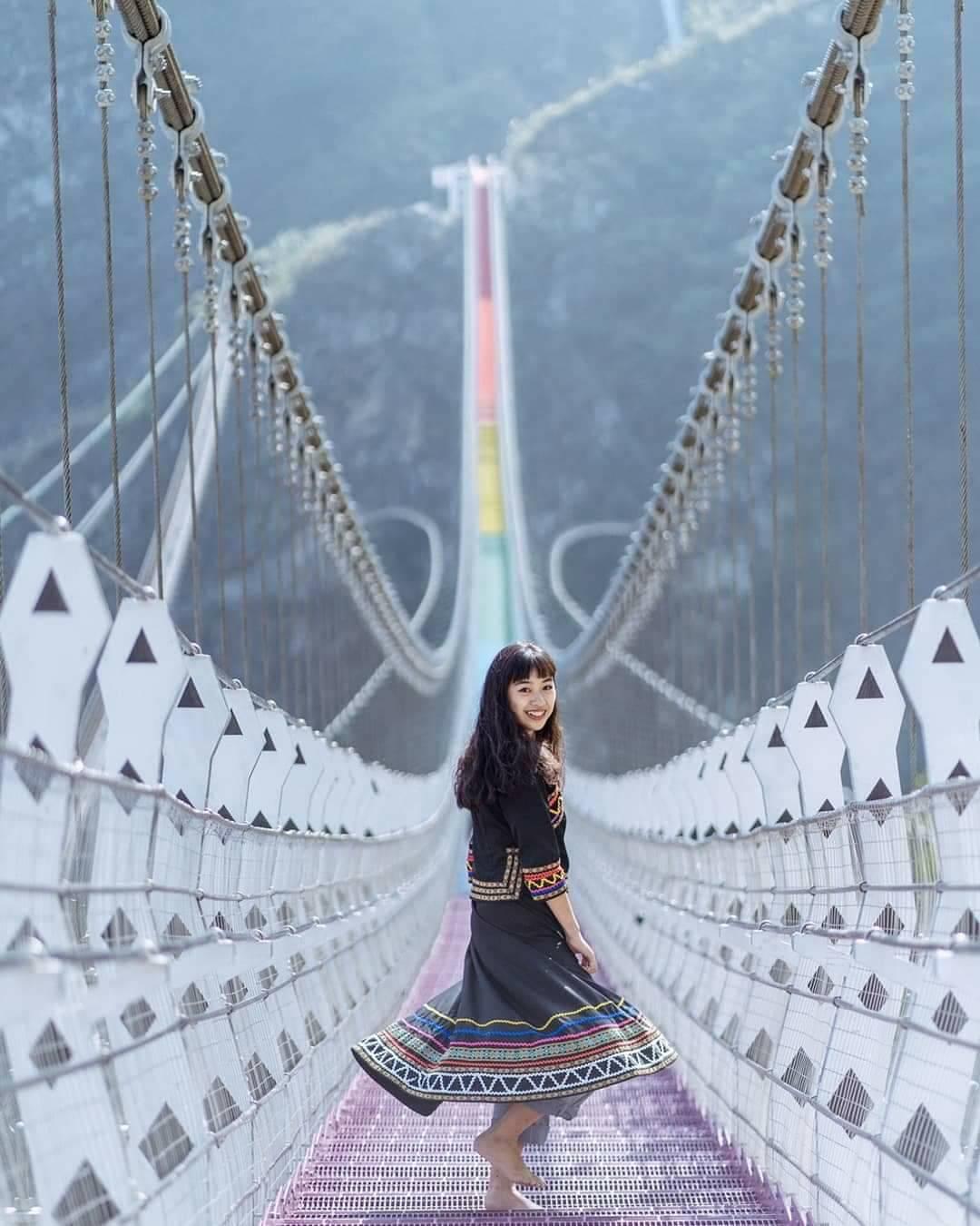 即將在6月20日揭幕啟用的七彩吊橋